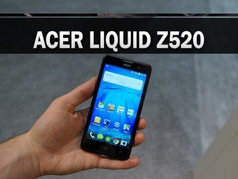 Acer Liquid Z520, prise en main - par Test-Mobile.fr