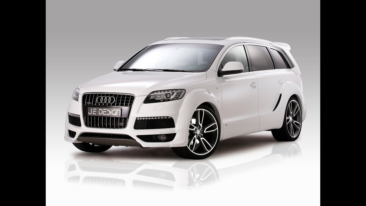 2012 je design audi q7 s line widebody youtube. Black Bedroom Furniture Sets. Home Design Ideas