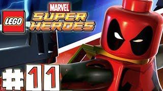 LEGO Marvel Superheroes - DEADPOOL MISSION 11- Stranger Danger (100% Completion)