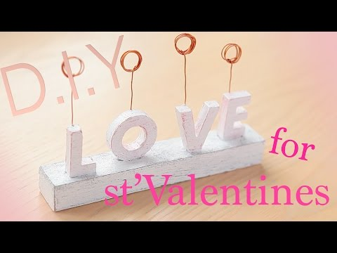 stValentines diy gift. Подставка для фото на день всех влюбленных