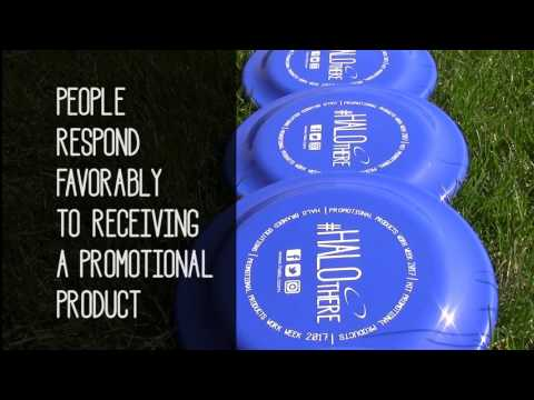 """Say """"HALO There"""" for Promotional Products Work! Week 2017"""