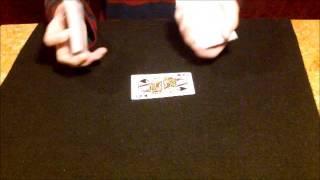 Kartentrick karte nach oben bringen