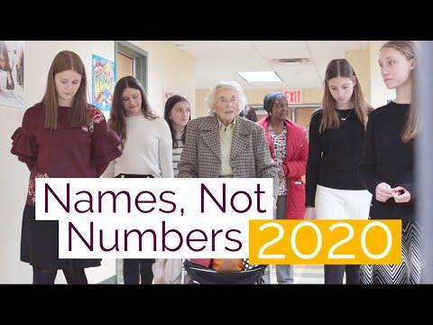 Names, Not Numbers 2020 at Yeshiva Har Torah