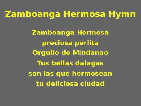 Zamboanga Hermosa Hymn (OGV)