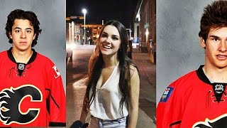 Monahan VS Gaudreau - Who Do Girls Like More?