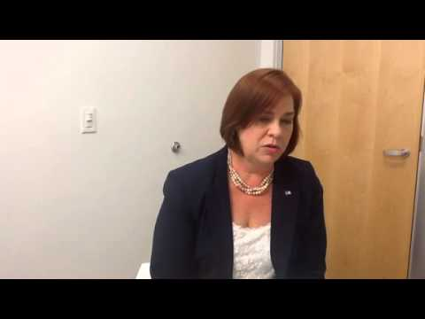 Editorial board meeting with April Freeman