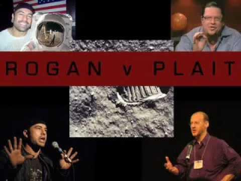 MOON TALKS Joe Rogan, Phil Plait Penn Jillette Part 1/10