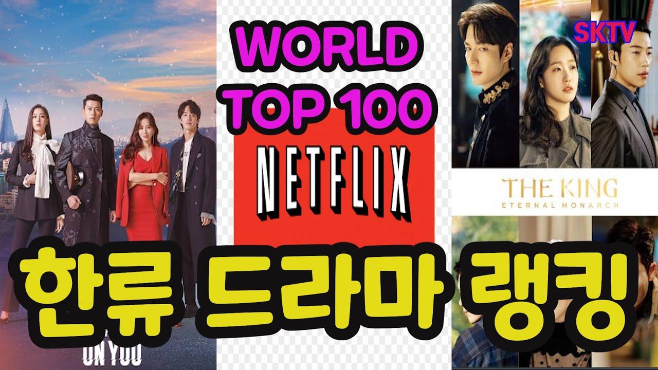 5월 한류 드라마 랭킹, 넷플릭스 월드 톱 100 랭킹 및 국가별 톱 10 ( Top 100 in the world in May & Top 10 by Nation in May )