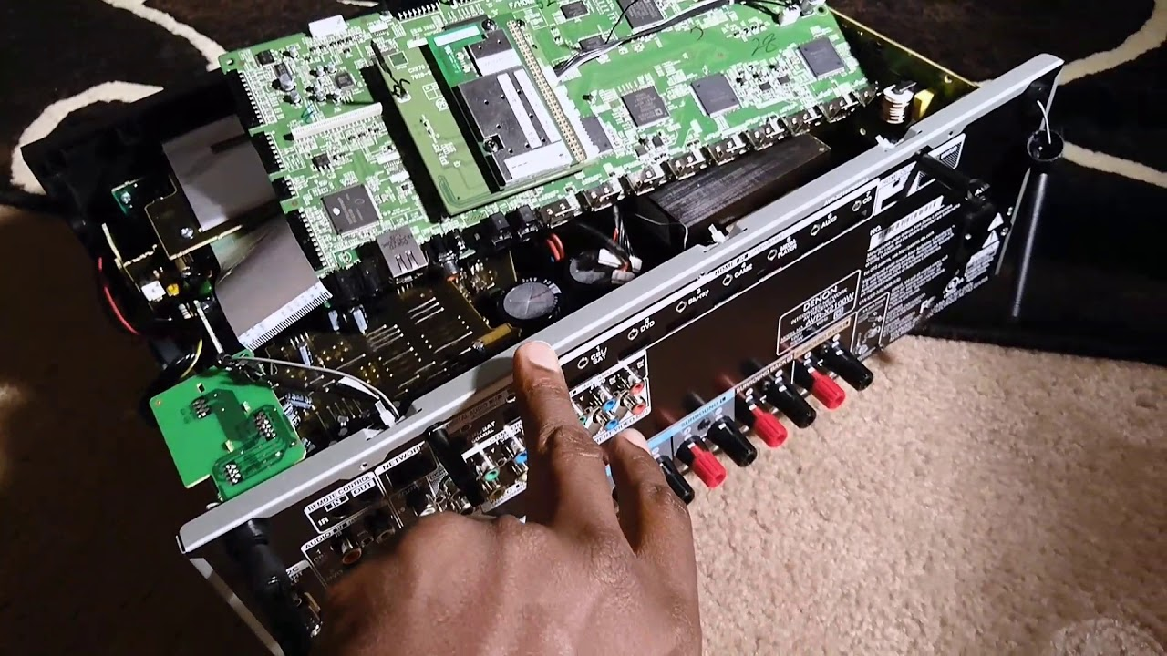 Denon AVR-X2100W Power Cycle/ Protect Mode Fix