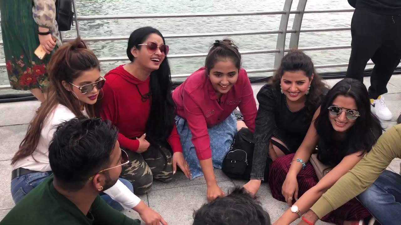 Masti with the celebs in Singapore part 2 with #kajalraghwani n many more