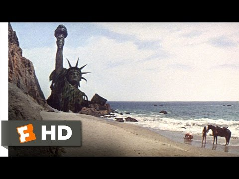 Planet of the Apes (5/5) Movie CLIP - Statue of Liberty (196