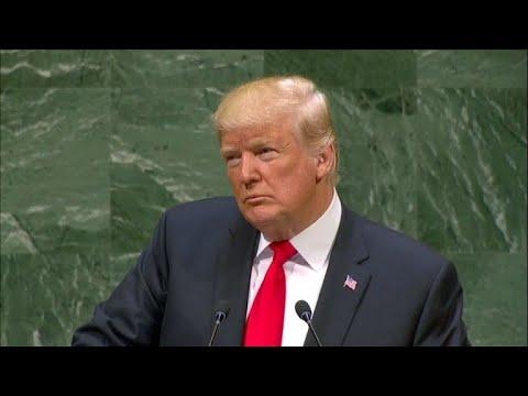 Trump deplora en la ONU