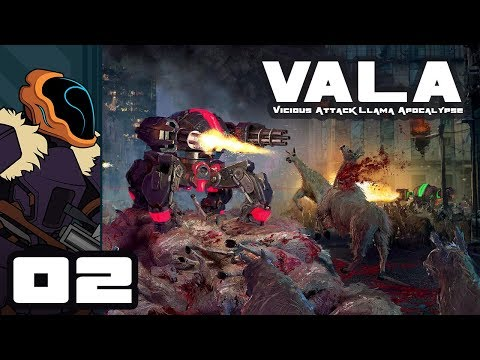 Let's Play Vicious Attack Llama Apocalypse - PC Gameplay Part 2 - Curse You Cars!