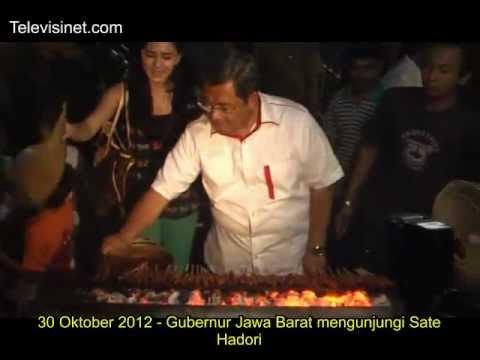 30 Oktober 2012 - Gubernur Jawa Barat mengunjungi Sate Hadori
