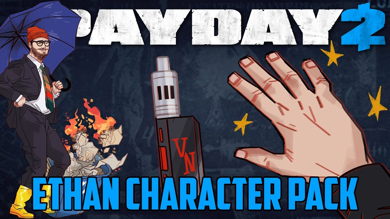 Payday 2 Ethan Character Pack