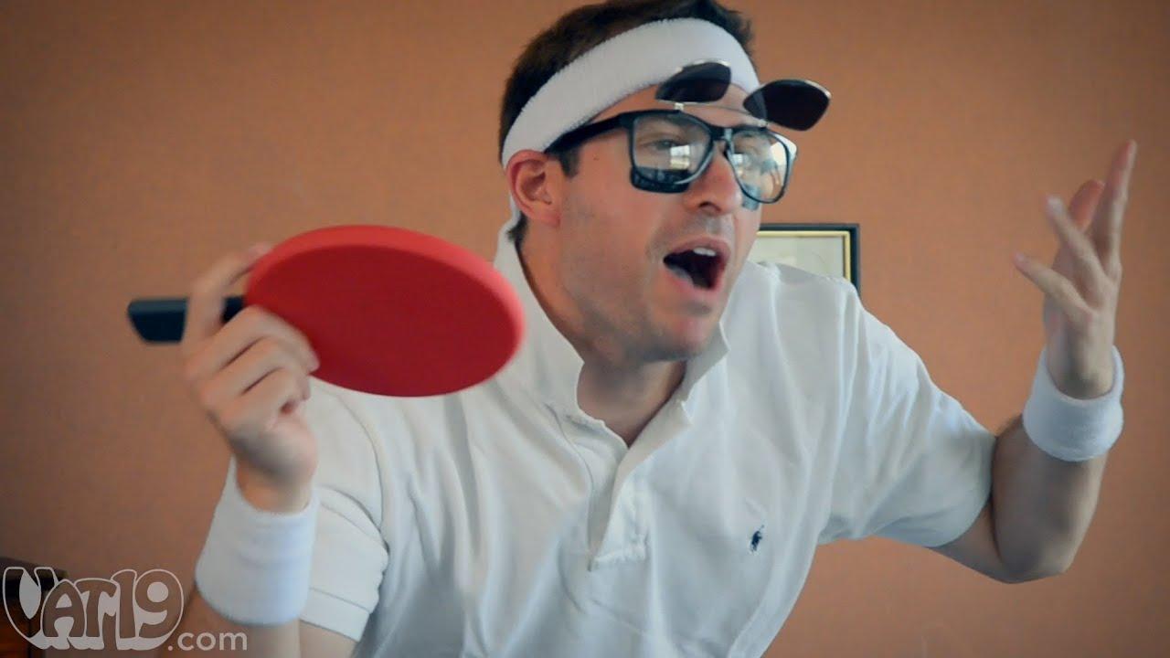 Pongo Portable Ping-Pong Set - YouTube