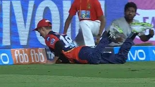 Watch Trent Boult takes best catch of IPL 2018