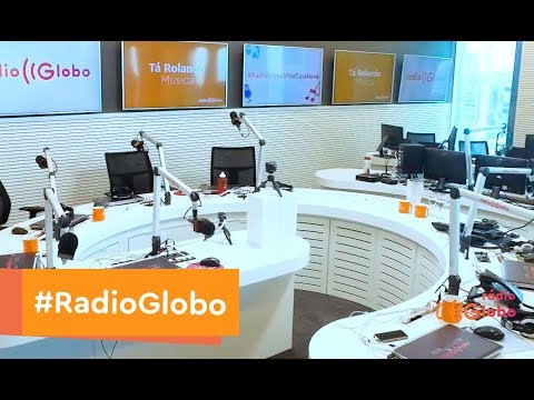 Novos Estúdios Rádio Globo em SP