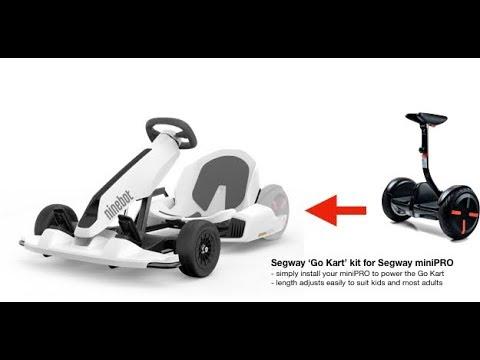 Ninebot - A Revolutionary Electric Gokart - YouTube