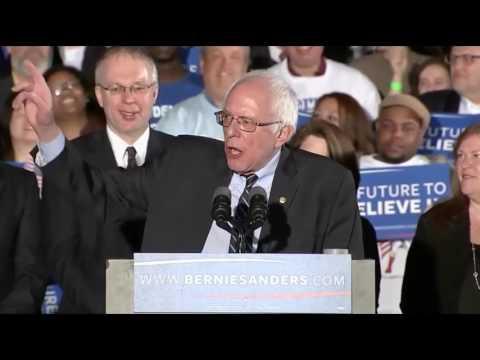 Bernie Sanders' Winning Speech From New Hampshire