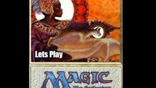 Lets Play Microprose Magic The Gathering Part 01