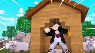 Minecraft: DESAFIO DA BASE 100% SEGURA CONTRA RATOS GIGANTE ‹ JUAUM ›