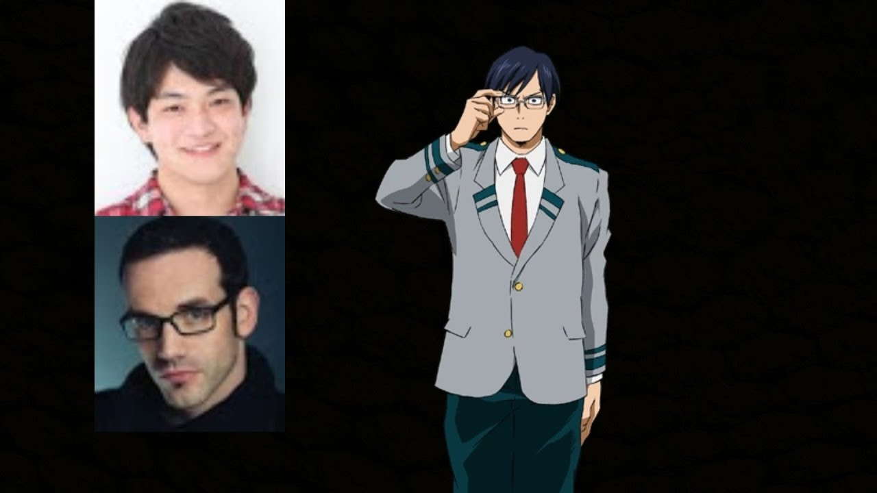 Anime Voice Comparison Tenya Iida My Hero Academia
