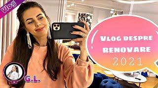 Cum am renovat casa!! Primul Vlog 2021 Georgiana Lobonț
