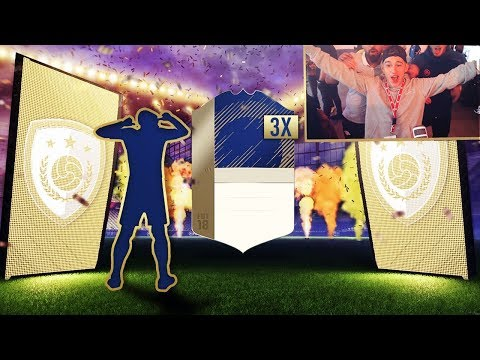FIFA 18 PACK OPENING! 3 ICONS IN 1 PACK OPENING