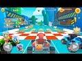 Kart Power Ninja Steel Race - Gameplay Android game - kart racing games