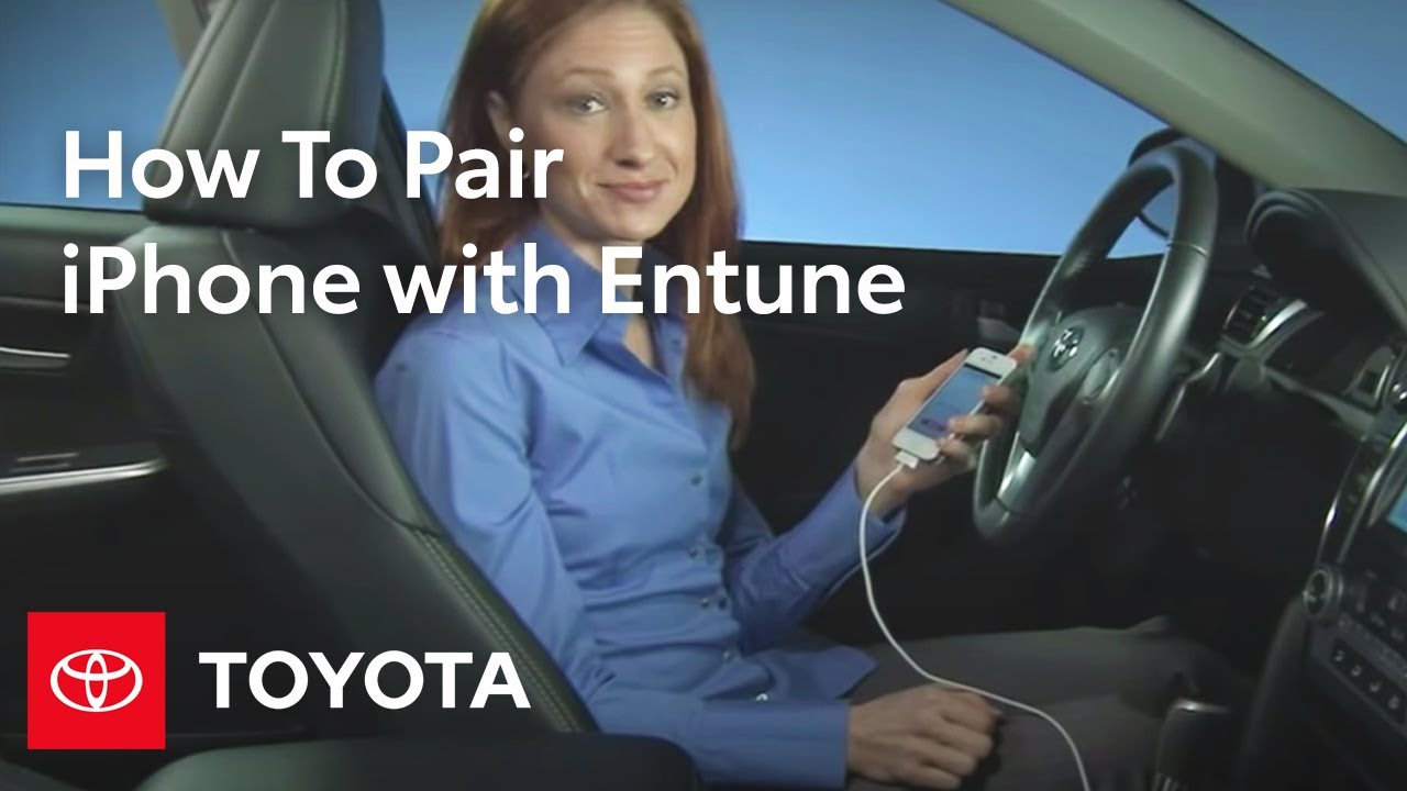 Toyota Pay By Phone >> How To Pair Your Iphone With Toyota Entune Toyota Youtube