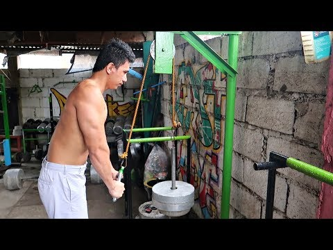 Cool Homemade Gym Equipment - Rainy Workout