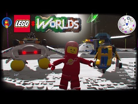 LEGO Worlds - Unlock Codes for LEGO Ninjago Movie and LEGO City Vehicles with Gameplay
