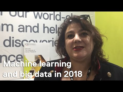 NCRI 2017: Dr Bissan Al-Lazikani on computational research, machine learning and big data in 2018