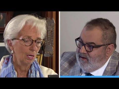 """Entrevista a Christine Lagarde, titular del FMI: """"Debemos cuidar a los pobres y vulnerables"""""""
