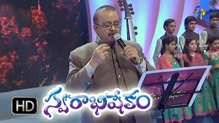 Krushivunte Manushulu Song - SP Balasubrahmanyam Performance in ETV Swarabhishekam - 4th Oct 2015