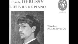THEODORE PARASKIVESCO plays DEBUSSY L'Isle Joyeuse (1976)