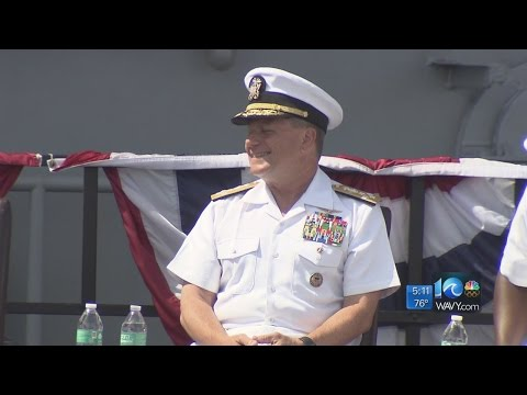 Admiral Bill Gortney retires after 39 years