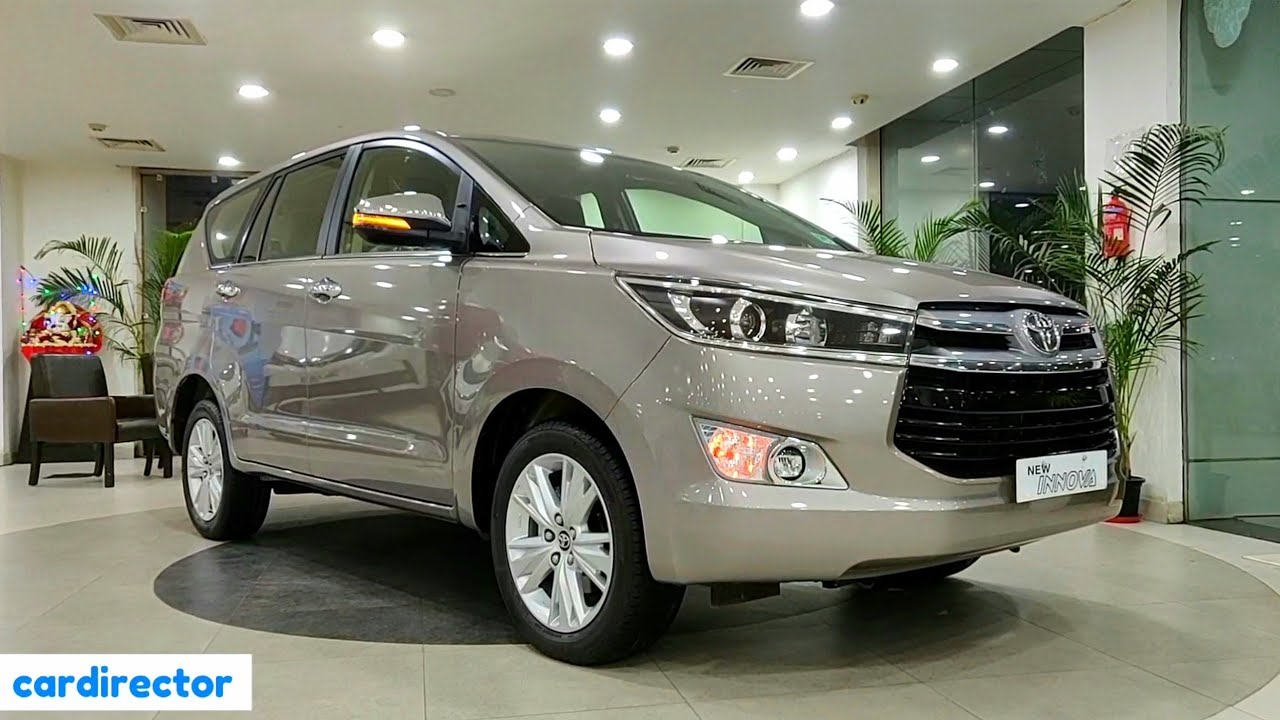 Toyota Innova Crysta 2 4 Zx 2020 Bs6 Innova 2020 Top Model Interior Exterior Real Life Review Youtube