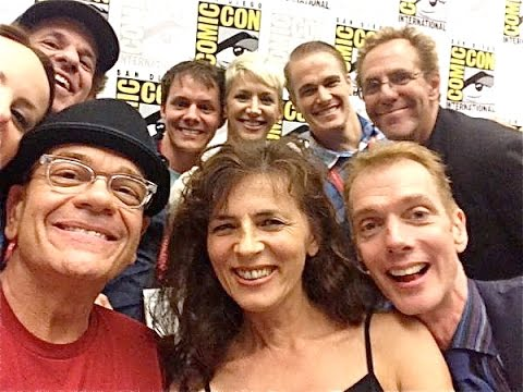 Complete  2014 Space Command SDCC Panel