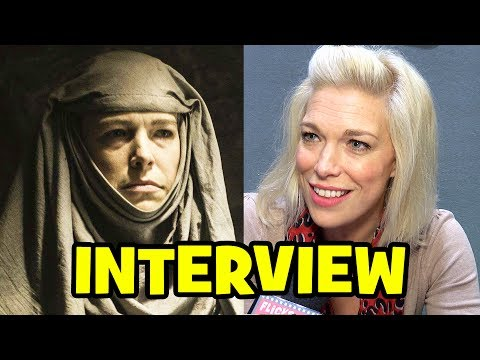 GAME OF THRONES Septa Unella Interview - Hannah Waddingham