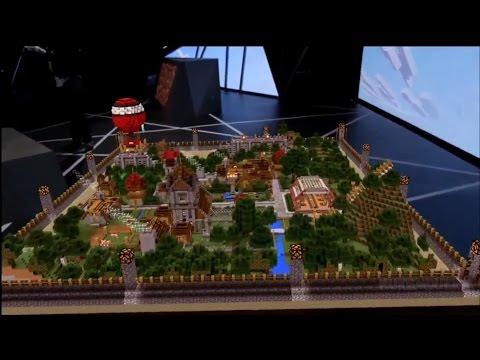 Minecraft VR Demo Xbox E3 2015