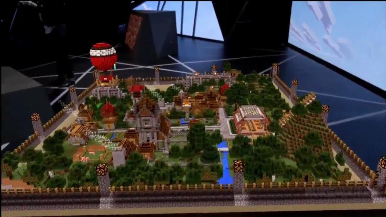 Minecraft VR Demo Xbox E11 11