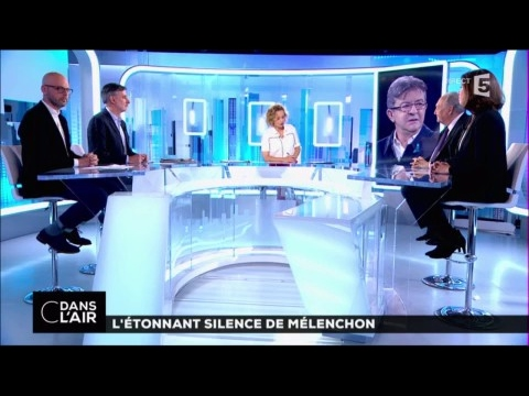 L'étonnant silence de Mélenchon #cdanslair 27-04-2017
