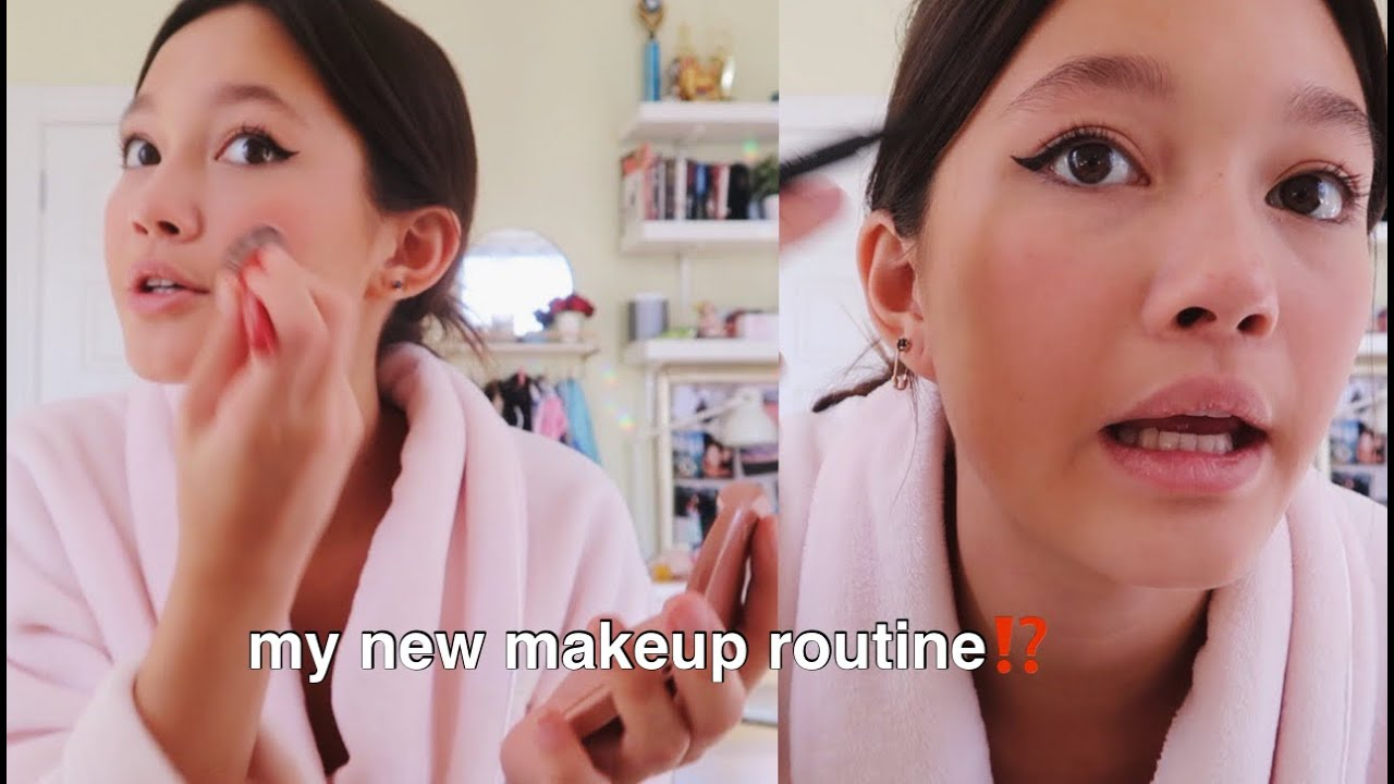 get ready with me (skincare, new makeup routine, shopping in soho)