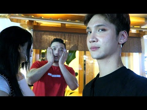 Visiting Jin's restaurant (we waited three hours lol) - Edward Avila