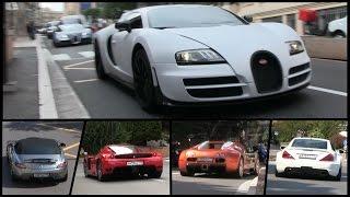 Russian Supercar Invasion in Monaco 2014 | 3x Bugatti Veyron, Ferrari Enzo and more!