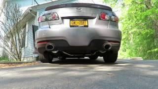 Mazdaspeed 6 Corksport Turbo-back Exhaust Cold Start
