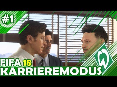 WILLKOMMEN BEIM SV WERDER BREMEN II - FIFA 18: KARRIEREMODUS WERDER BREMEN II #1 (deutsch)