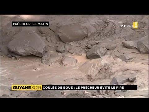 Coulée de boue au Prêcheur en Martinique, les habitants évitent le pire